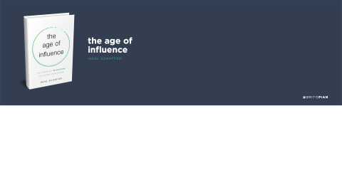 The Age of Influence Book Review