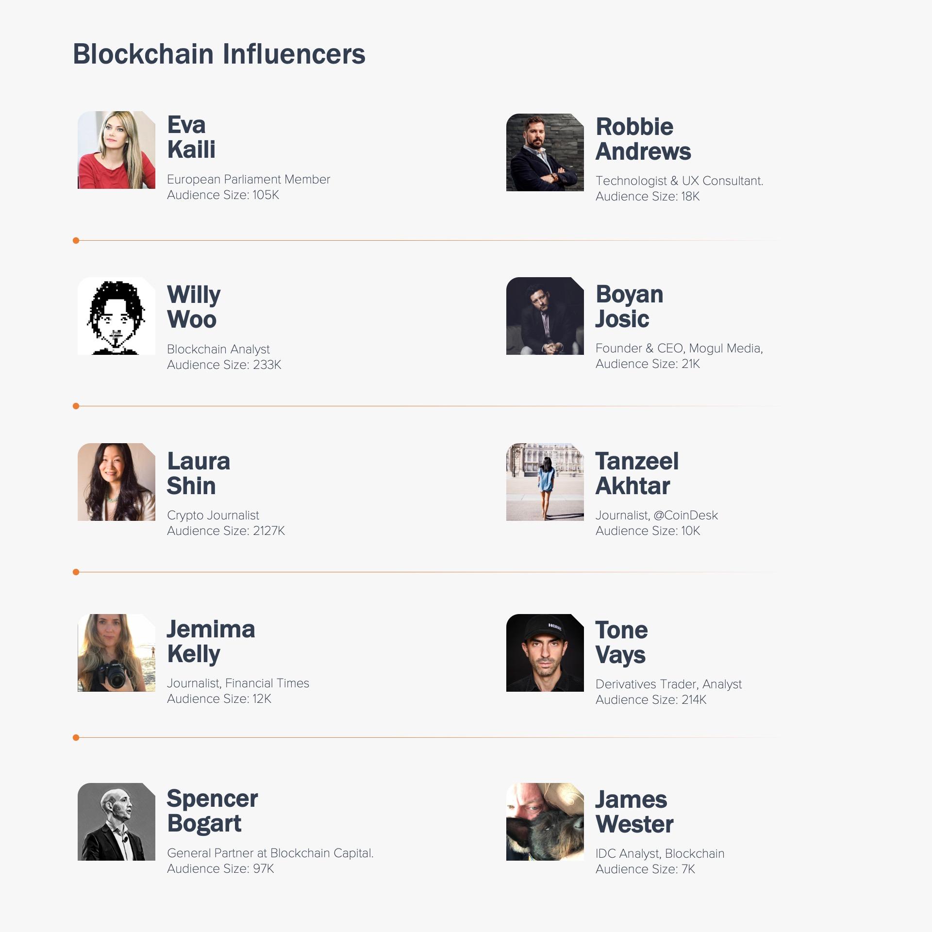 Blockchain Enthusiasts