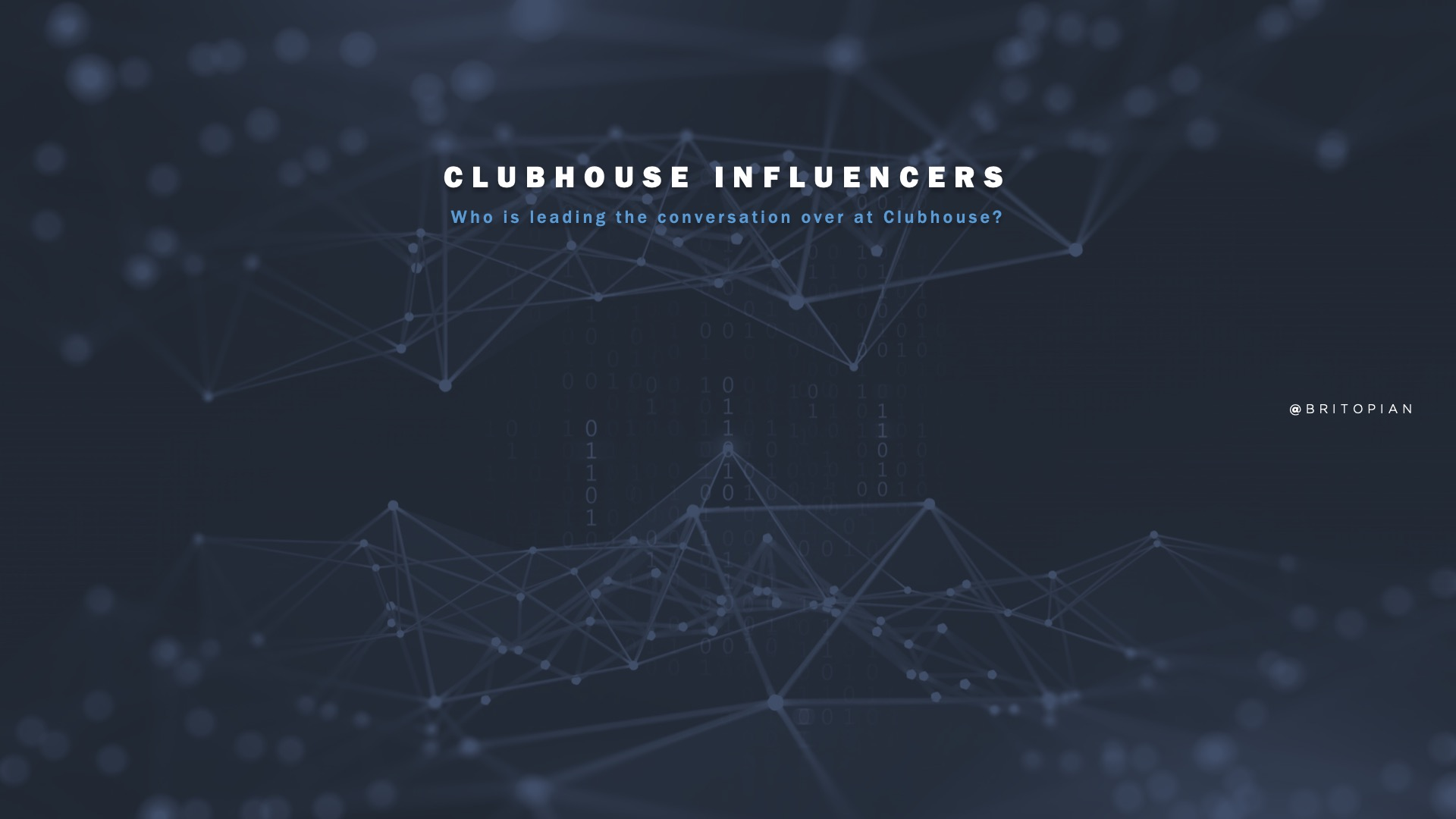 Clubhouse Influencers: Wait … Already?